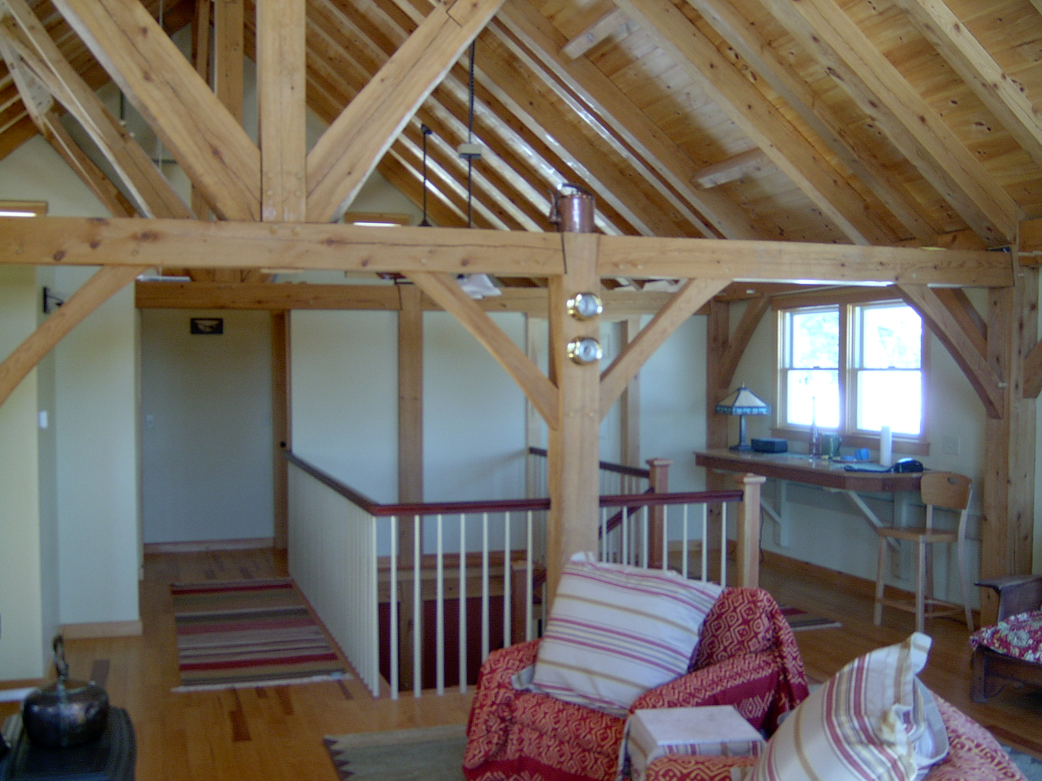 Build a barn or a custom post beam home with kennebec for Post beam home designs